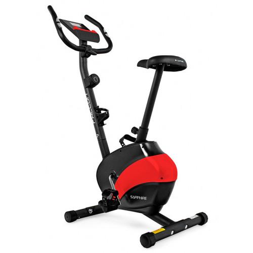 Rower magnetyczny FALCON SG-911B SAPPHIRE (czarno-czerwony) (1)