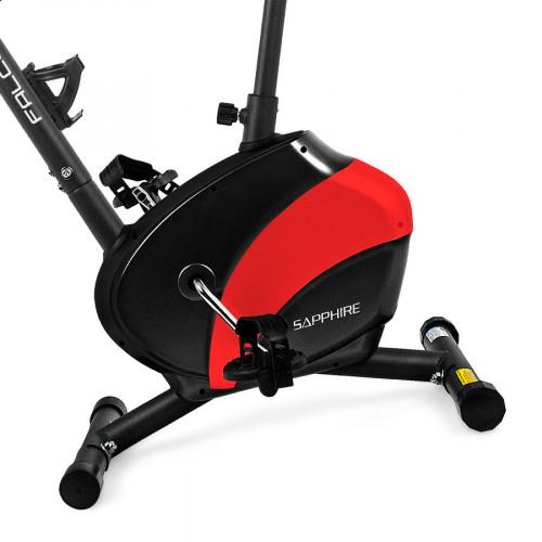 Rower magnetyczny FALCON SG-911B SAPPHIRE (czarno-czerwony) (3)