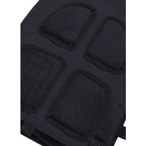 Obciążeniowa kamizelka do ćwiczeń Tactic Weight Vest (black, 20LB) THORN+FIT (5)