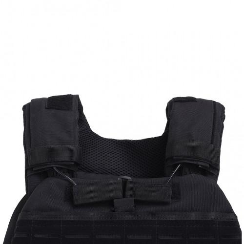 Obciążeniowa kamizelka do ćwiczeń Tactic Weight Vest (black, 20LB) THORN+FIT (6)