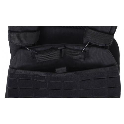 Obciążeniowa kamizelka do ćwiczeń Tactic Weight Vest (black, 20LB) THORN+FIT (7)