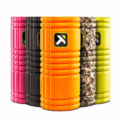 Wałek Grid Foam Roller 33 cm TRIGGER POINT (pomarańczowy) (5)