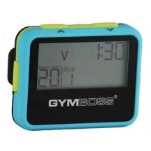 Zegar / stoper interwałowy GYMBOSS (niebiesko-żółty)