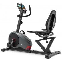 Rower leżący HS-050L Hawk Hop Sport (szaro-czerwony)