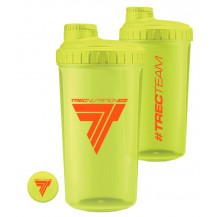 Trec - SHAKER plastikowy TREC TEAM - 0,7 l (żółty)