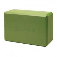 Kostka do jogi z pianki GAIAM (apple green)