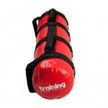 Worek treningowy PowerBag wypełniany wodą 20 kg TSR (czerwony)