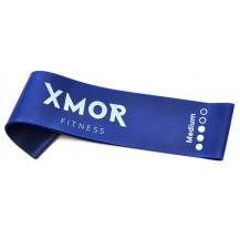 Guma oporowa MINI BAND średnia XMOR (niebieska)
