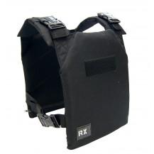 Kamizelka obciążeniowa RxVest 9kg RX Athletic Gear (czarna)