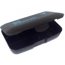 Trec - Pudełko na kapsułki PILL BOX (czarne)
