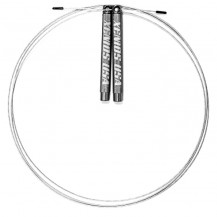 Skakanka HIGH SPEED DOUBLE UNDER-ER JUMP ROPE - XENIOS (czarna)