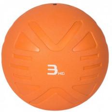 Piłka lekarska MEDICINE BALL 3 kg - PROUD (pomarańczowa)