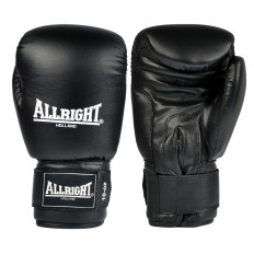 Rękawice bokserskie skóra 10 oz Allright (czarne)