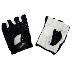 Rękawiczki sportowe z siatką Allright (czarne)