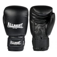 Rękawice bokserskie skóra 12 oz Allright (czarne)
