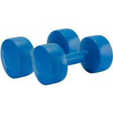 Hantle kompozytowe 2 x 5 kg Allright (niebieskie)