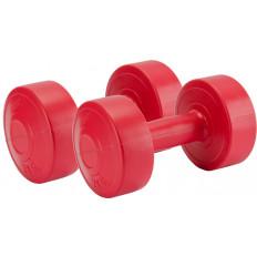 Hantle kompozytowe 2 x 2 kg Allright (czerwone)