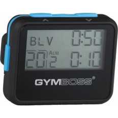 Zegar / stoper interwałowy GYMBOSS (czarny)
