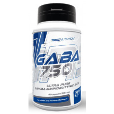 Trec - GABA 750 - 60 kaps.