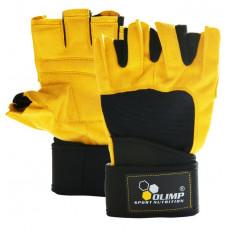 Olimp - Rękawice treningowe - HARDCORE RAPTOR (żółte)