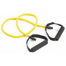 Guma fitness z uchwytami 6x9x1200 mm Allright (żółta)