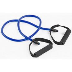 Guma fitness z uchwytami 8x12x1200 mm Allright (niebieska)