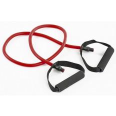 Guma fitness z uchwytami 9x13x1200 mm Allright (czerwona)