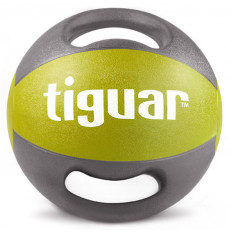 Piłka lekarska z uchwytami 7kg tiguar (oliwka)