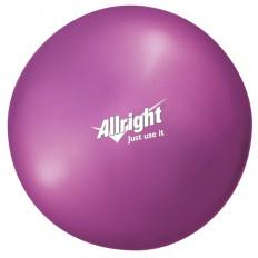Piłka gimnastyczna OVER BALL 18 cm Allright (różowa)