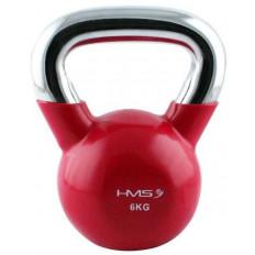 Kettlebell 6 kg HMS (czerwony)