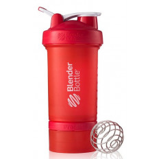 SHAKER PROSTAK - 650ml Blender Bottle (czerwony)