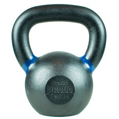 Hantla żeliwna kettlebell TOP TRAINING 12 kg - PROUD