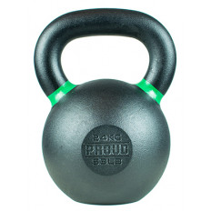 Hantla żeliwna kettlebell TOP TRAINING 24 kg - PROUD