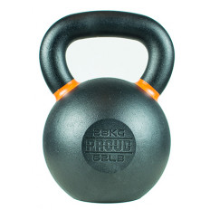 Hantla żeliwna kettlebell TOP TRAINING 28 kg - PROUD