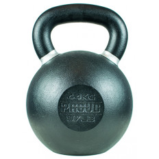Hantla żeliwna kettlebell TOP TRAINING 44 kg - PROUD