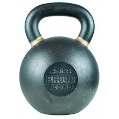 Hantla żeliwna kettlebell TOP TRAINING 48 kg - PROUD