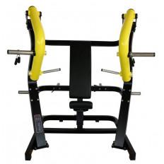 Maszyna Chest Press do treningu mięśni klatki piersiowej, tricepsów i przednich mięśni naramiennych GOLD LINE
