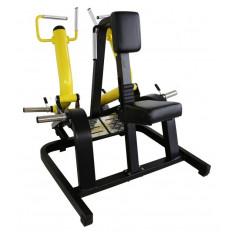 Maszyna Row Machine do treningu mięśnia najszerszego grzbietu, bicepsów i mięśni czworobocznych GOLD LINE