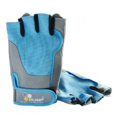 Olimp - Rękawice treningowe - FITNESS ONE (niebieskie)