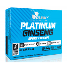 Olimp -  PLATINUM GINSENG SPORT EDITION 550 mg - 60 kaps.