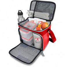 THE BOX FITMARK - Torba na 2 posiłki + shaker (czerwona)