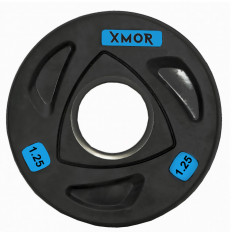 Obciążenie olimpijskie ogumowane 1,25 kg XMOR