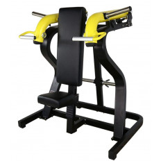 Maszyna Shoulder Press do treningu mięśni ramion, tricepsów i mięśni czworobocznych GOLD LINE