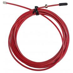 Wymienna stalowa linka do skakanki 2.0 THORN+FIT (czerwona)