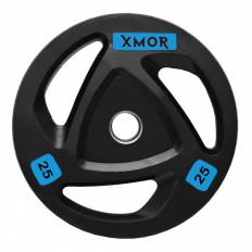 Obciążenie olimpijskie ogumowane 25 kg XMOR