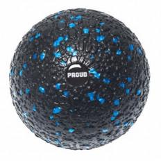 Piłka do masażu EPP BALL 10 cm - PROUD (czarno-niebieska)