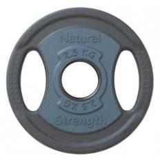 Obciążenie Olimpijskie Poliuretanowe 2,5 kg Natural Strength