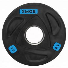Obciążenie olimpijskie ogumowane 2,5 kg XMOR