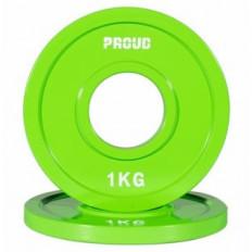 Obciążenie FRACTIONAL STEEL PLATE 1kg PROUD