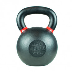 Hantla żeliwna kettlebell TOP TRAINING 32 kg - PROUD